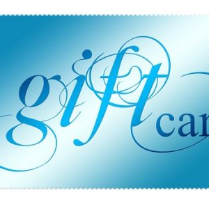 massage gift cards