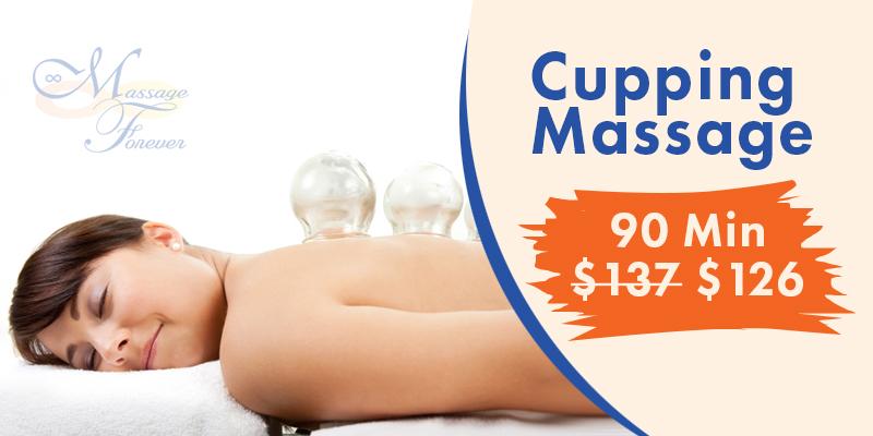 Cupping Massage offer massage forever arlington va